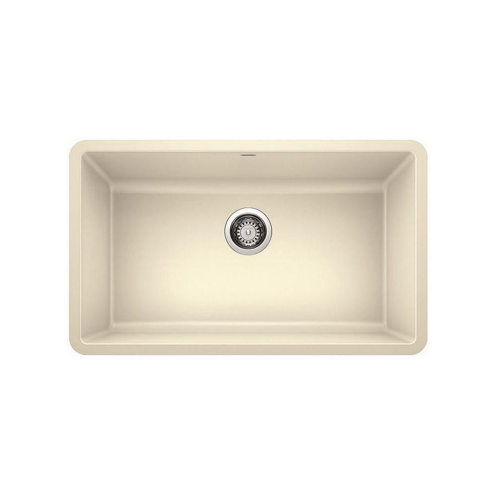 Blanco Precis Undermount Granite 30 In X 18 In Single