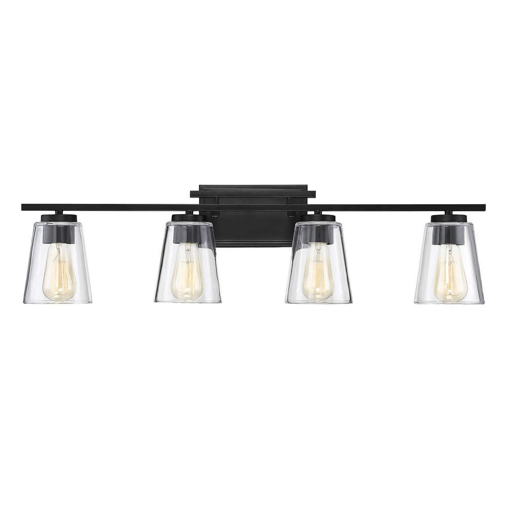 Black Vanity Lighting Lighting The Home Depot