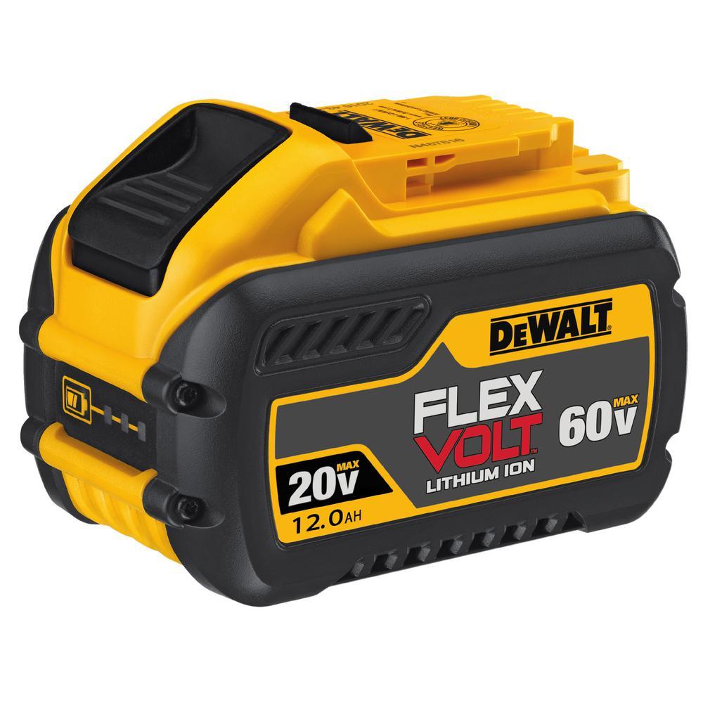 DeWalt DEWALT FLEXVOLT 20-Volt/60-Volt MAX 12.0 Ah Battery Pack