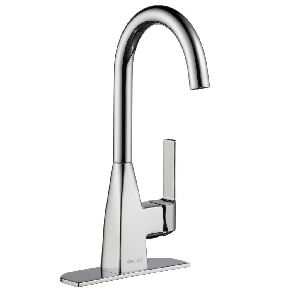 Peerless Xander Single-Handle Bar Faucet in Chrome