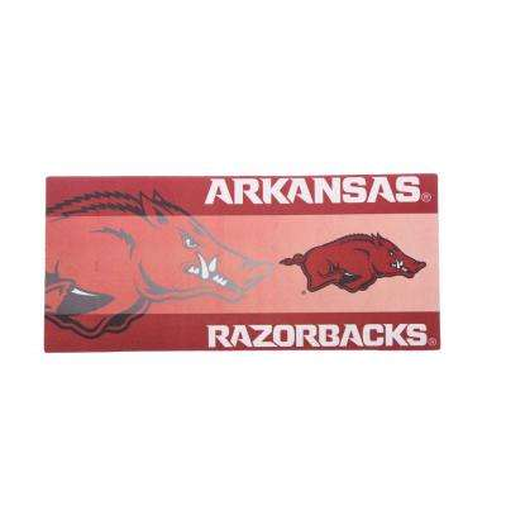 University of Arkansas 22 in. x 10 in. Decorative Insert Mat