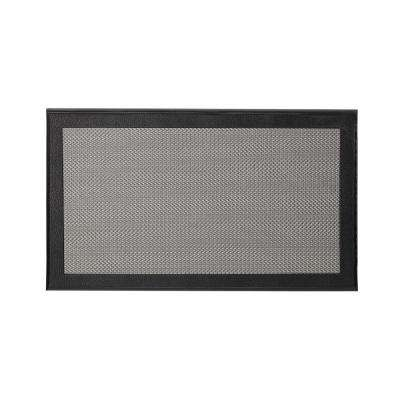 Resilience Black 20 in. x 34 in. Poly-Urethane Cushion Mat