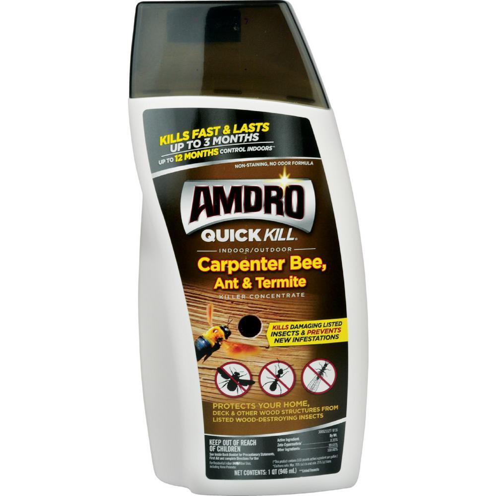 32 oz. Quick Kill Carpenter Bee, Ant, and Termite Killer Concentrate