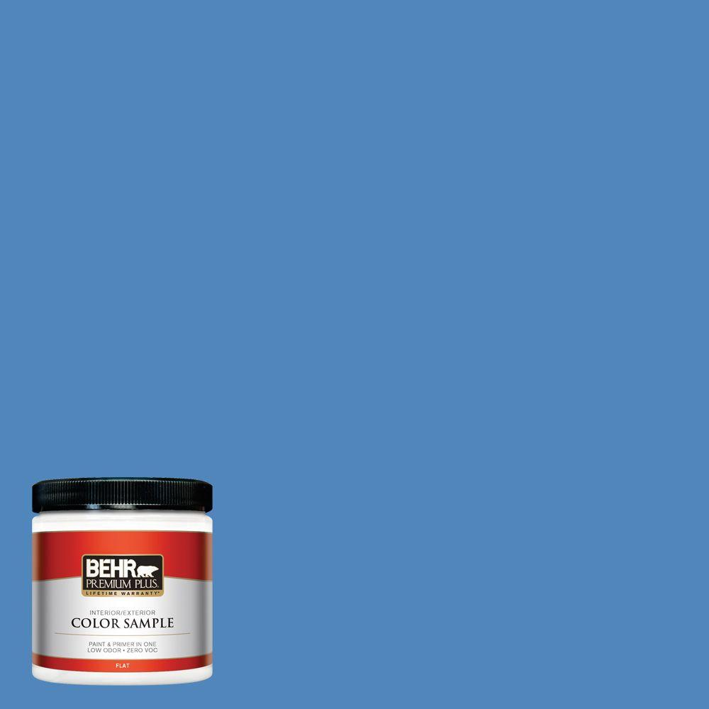 BEHR Premium Plus 8 oz. #570B-6 Handsome Hue Interior/Exterior Paint Sample