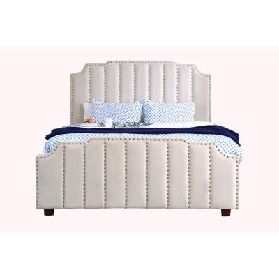 Atria Cal. King Bed in Beige
