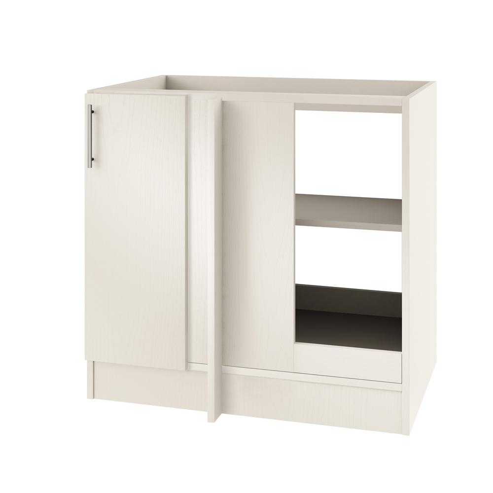 Outdoor Wood Cabinets: WeatherStrong Assembled 39x34.5x24 In. Miami Open Back