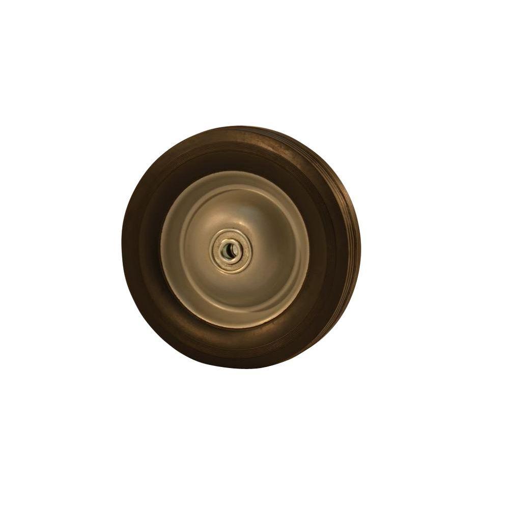 8 in. Semi Pneumatic Steel Wheel