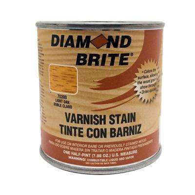 1/2 pt. Light Oak Oil-Based Interior Varnish Stain