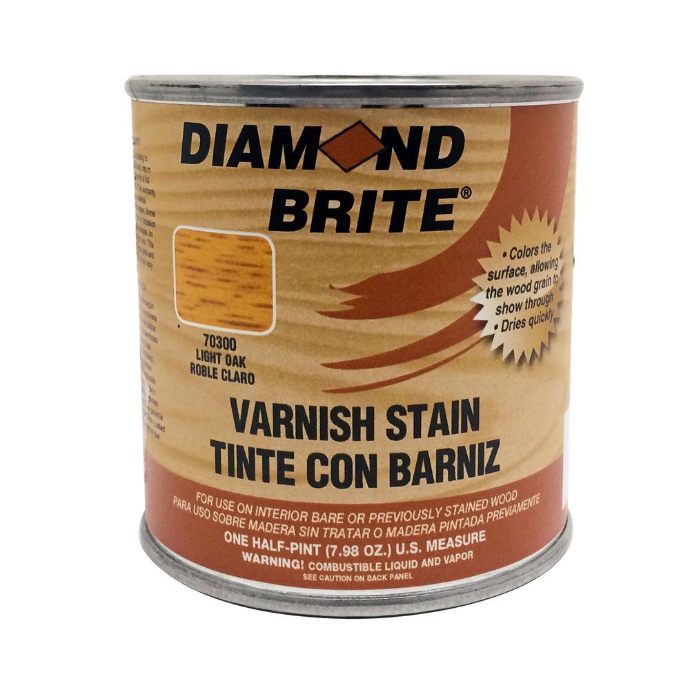 1/2 pt. Light Oak Oil-Based Interior Varnish Stain
