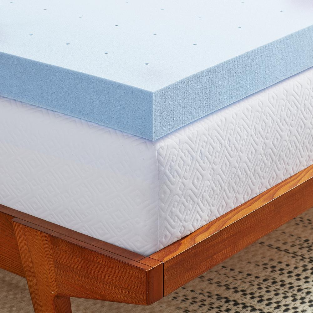 4 Inch Gel Memory Foam Mattress Topper Full Size