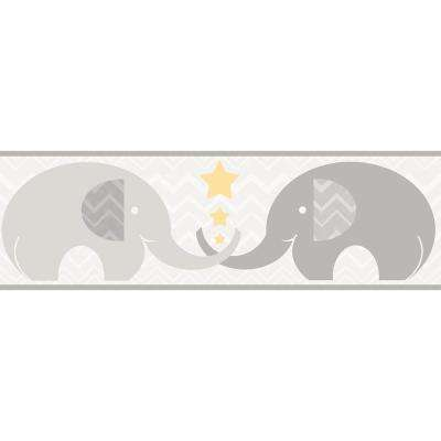 Tobi Elephant Love Wallpaper Border