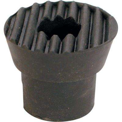 Black Door Holder Tip with Screw