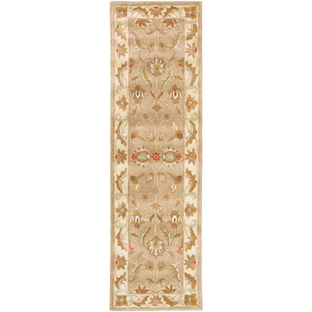 Oxford Isabelle Moss 2 ft. 3 in. x 8 ft. Indoor