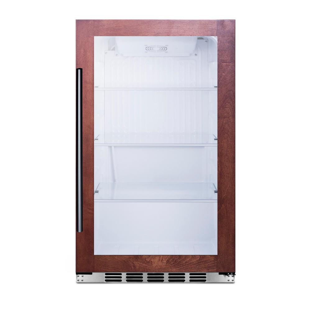 19 in. 3.1 cu. ft. Outdoor Refrigerator with Glass Door