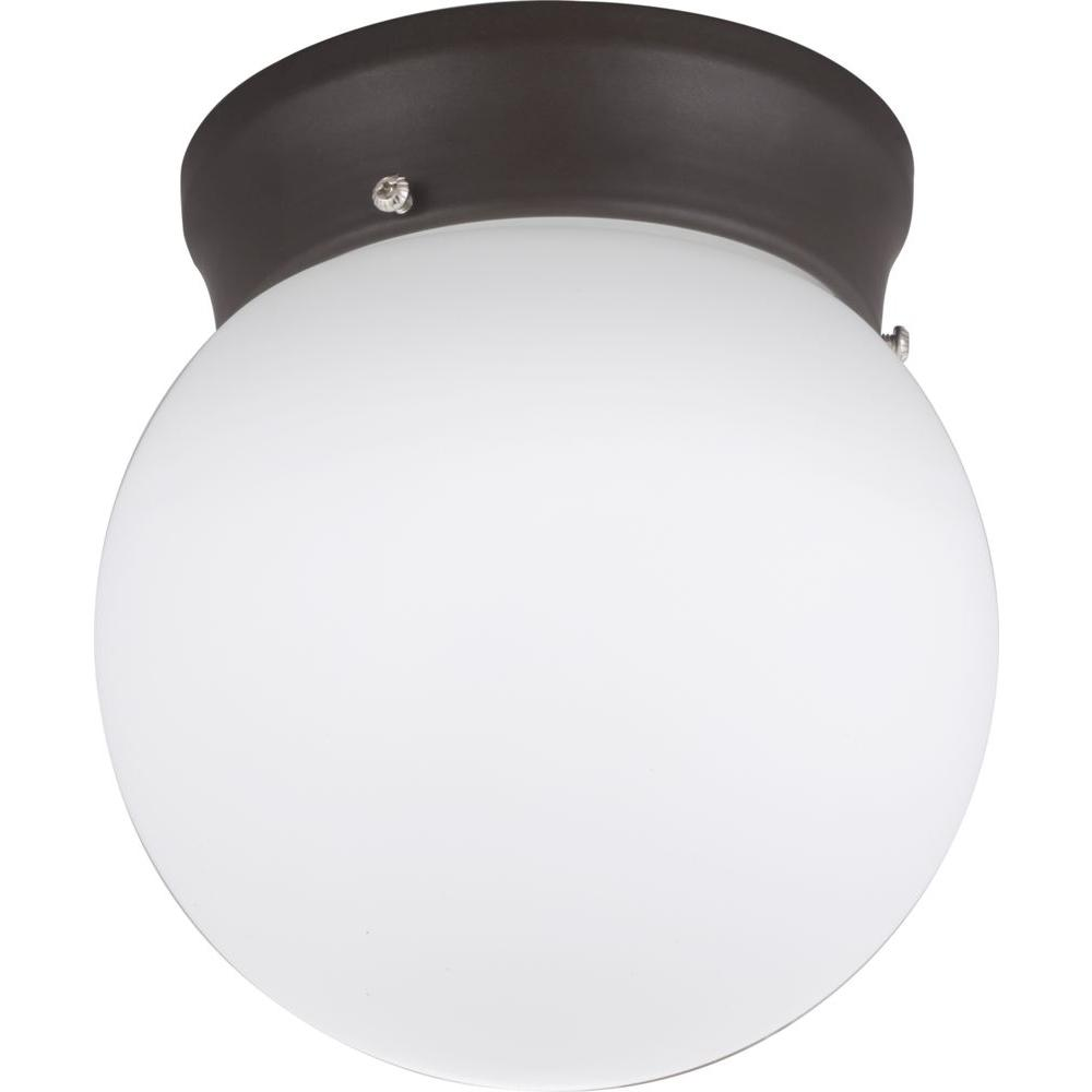Lithonia Lighting Bronze LED Globe Flushmount