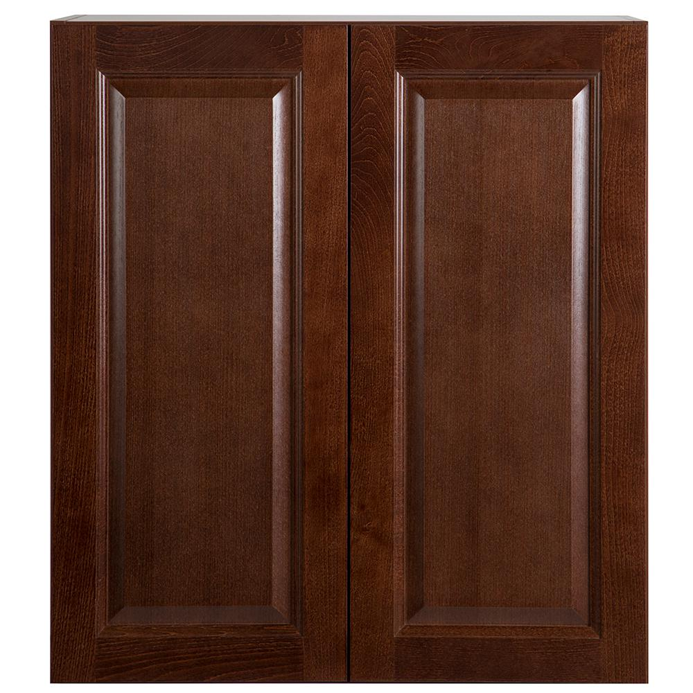 replace kitchen cabinets hampton bay benton assembled 27x30x12 in wall cabinet in 1868