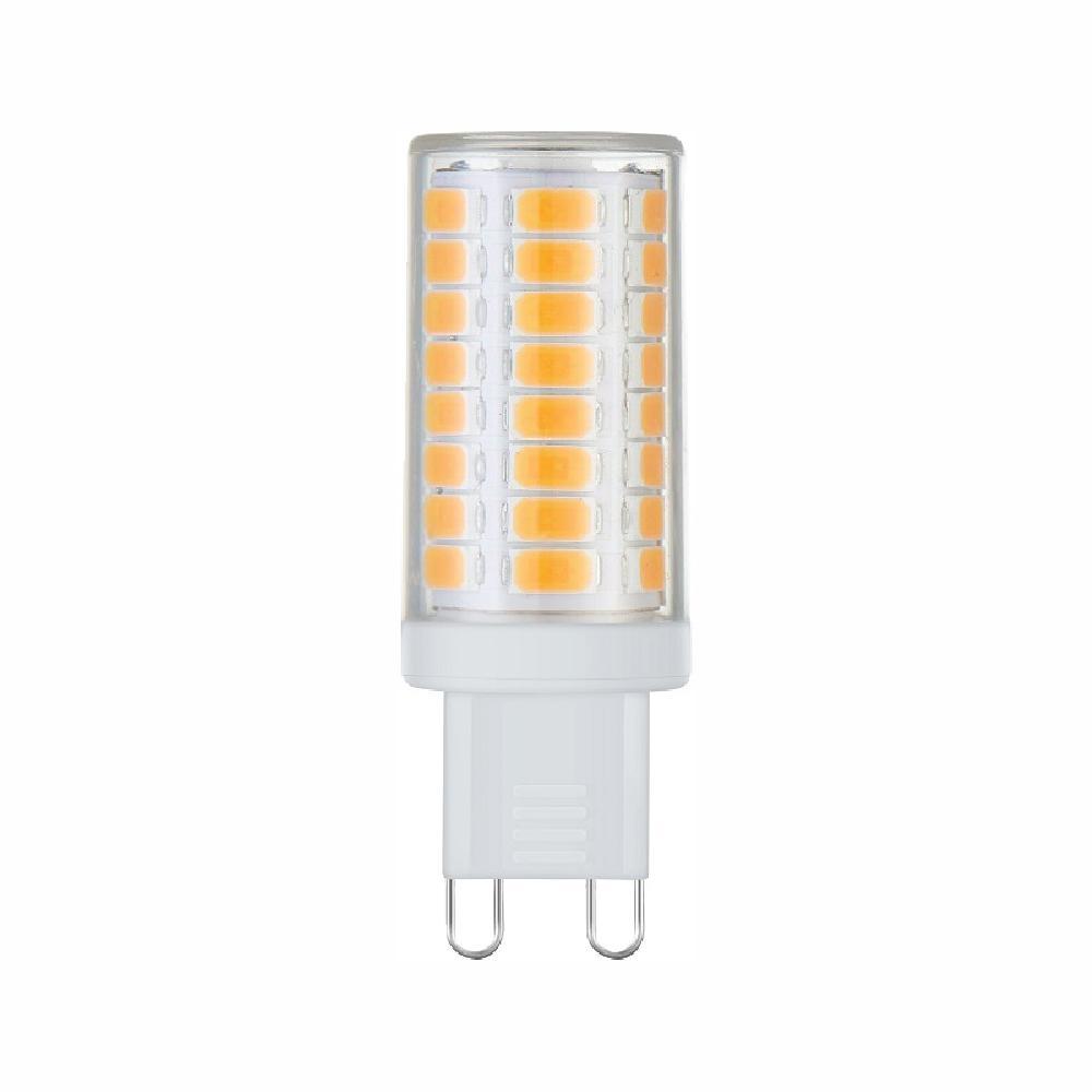 40-Watt Equivalent G9 Base Dimmable Soft White LED Light Bulb