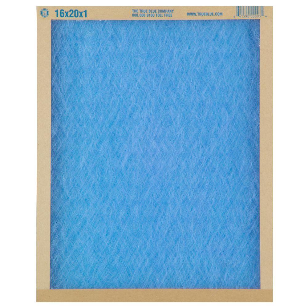 True Blue 18 in. x 18 in. x 1 in. Fiberglass FPR 1 Air Filter