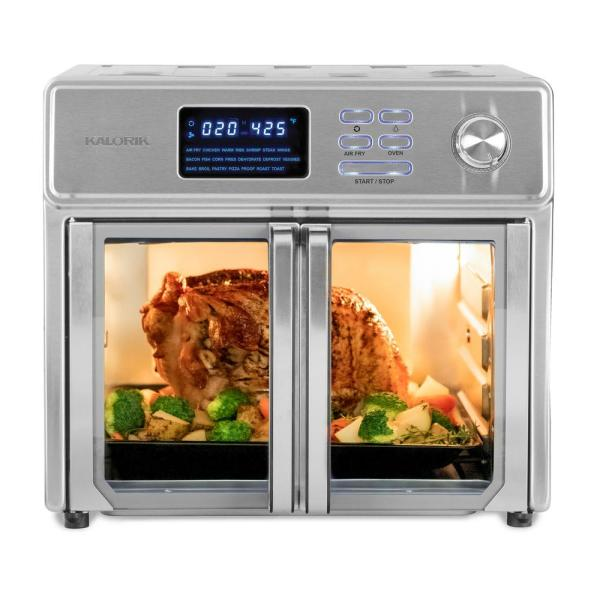 Maxx 26 qt. Stainless Steel Air Fryer Oven