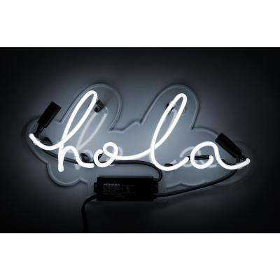 Oliver Gal 'Hola' Plug-in Neon Lighted Sign