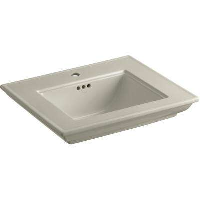 Memoirs Stately 24.5 in. Console Bathroom Sink Basin in Sandbar