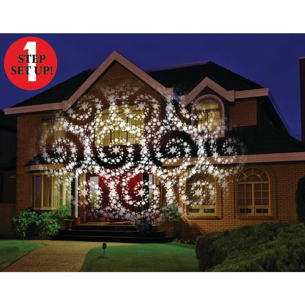 mr christmas cascading motion projector with 20 slides - Mr Christmas Lights And Sounds Of Christmas Outdoor