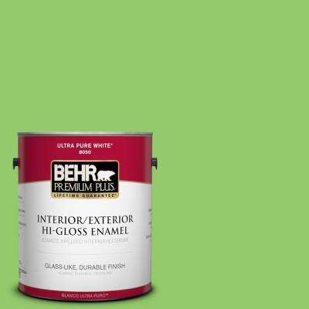 1-gal. #430B-5 Apple Orchard Hi-Gloss Enamel Interior/Exterior Paint