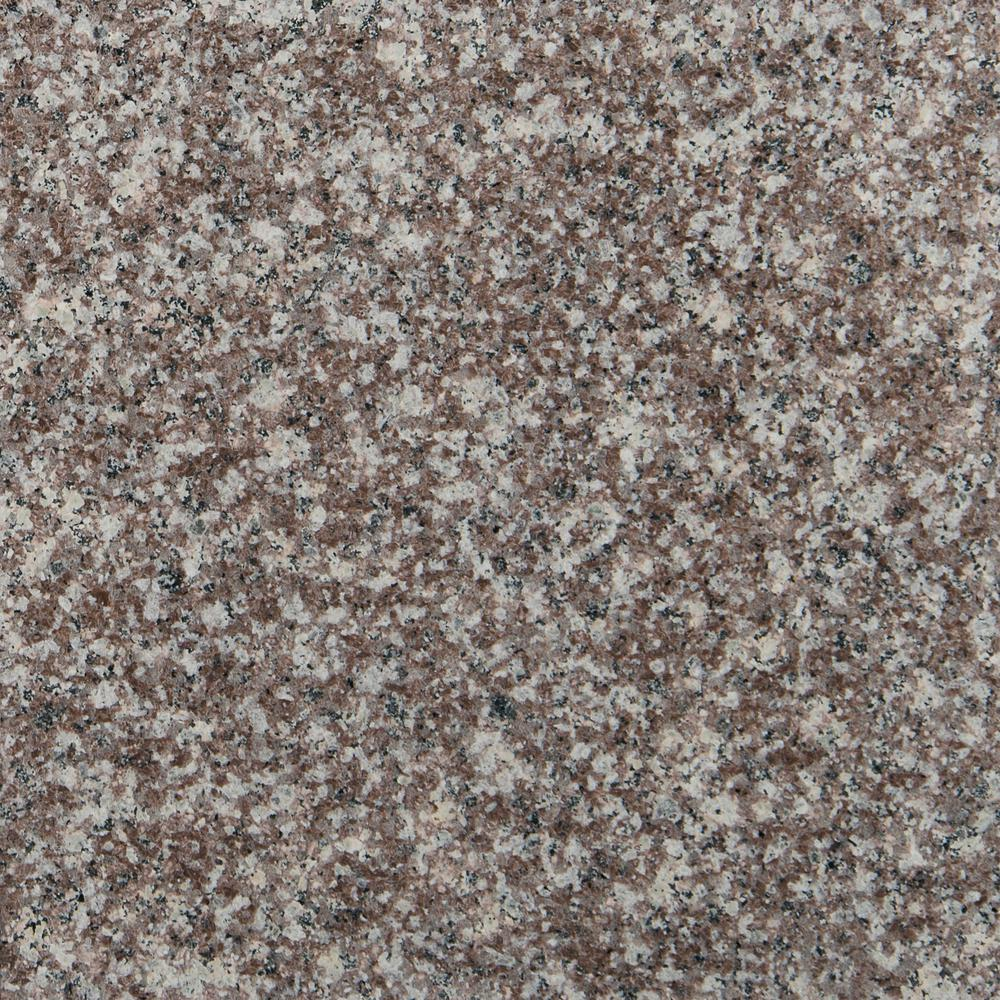 Bain Brook Brown 12 in. x 12 in. Polished Granite Floor