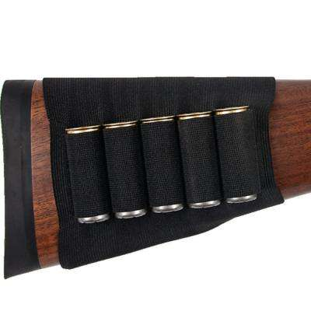 Buttstock Shell Holder for Shotguns