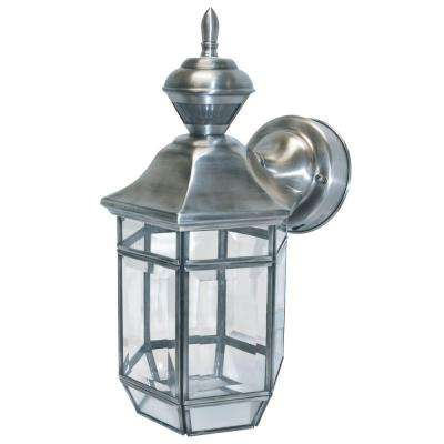 150 Degree Silver Lexington Lantern with Clear Beveled Glass