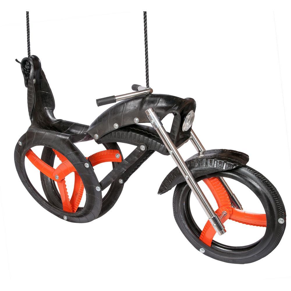 Chopper Ride'N Motorcycle Tire Swing