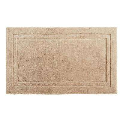 Imperial 30 in. x 50 in. Cotton Bath Mat in Barley
