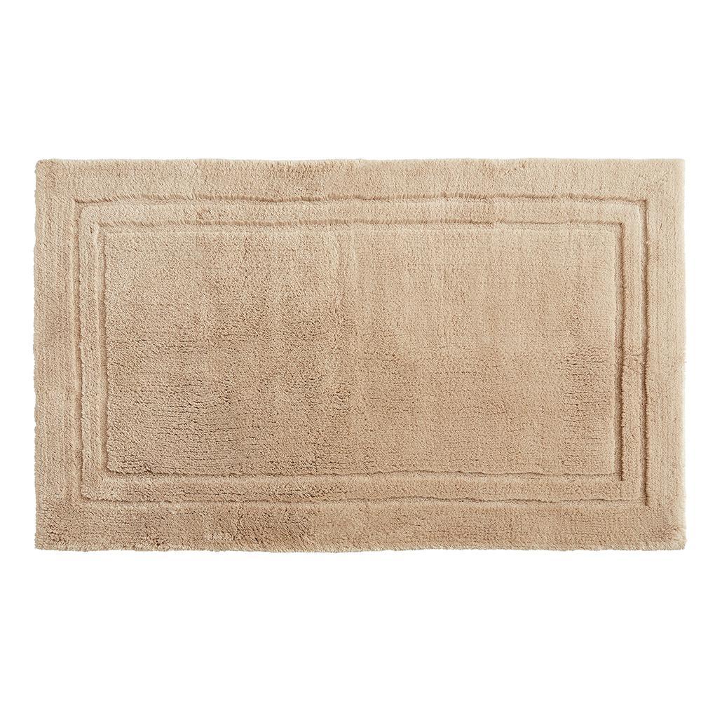 Imperial 30 in. x 50 in. Cotton Bath Mat in Barley