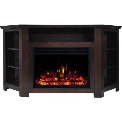 Mahogany Fireplace Tv Stands Electric Fireplaces The