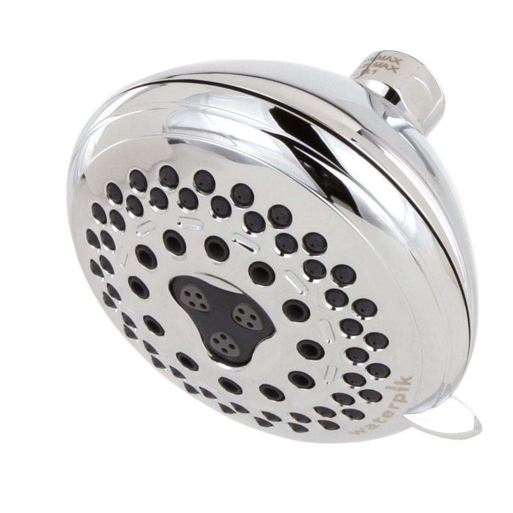 Waterpik Medallion Discover 7-Spray Showerhead in Chrome-DISCONTINUED