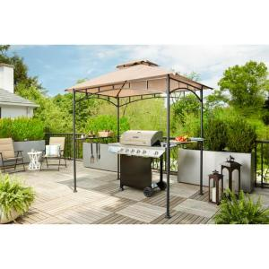 Heathermoore Outdoor Patio  8 ft. x 5 ft. Grill Gazebo