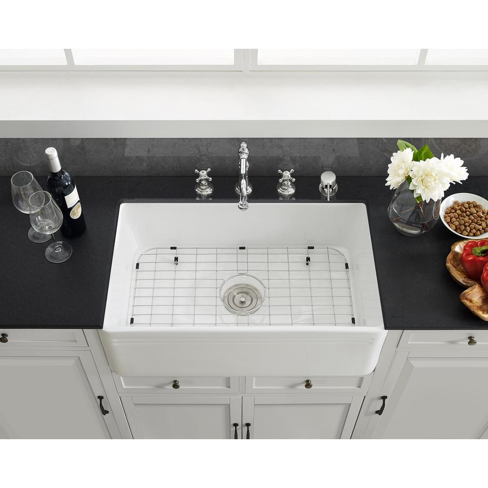 Swiss Madison 25 in. x 12 in. Stainless Steel Kitchen Sink Grid
