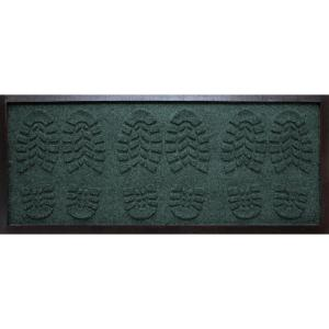 aqua shield evergreen 15 in x 36 in lug sole boot tray 20649591536 the home depot. Black Bedroom Furniture Sets. Home Design Ideas