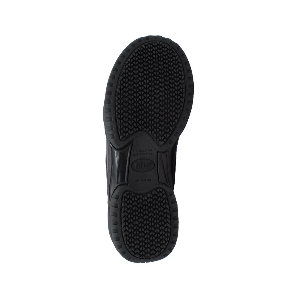 AdTec Footwear Mens Composite Toe Uniform Athletic Black 5.5-M