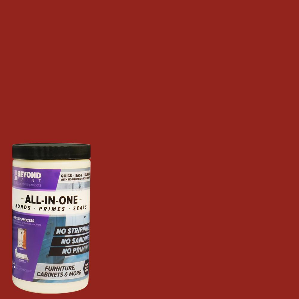 Beyond Paint 1 qt. Poppy Furniture, Cabinets and More Multi-Surface All-in-One Refinishing Paint