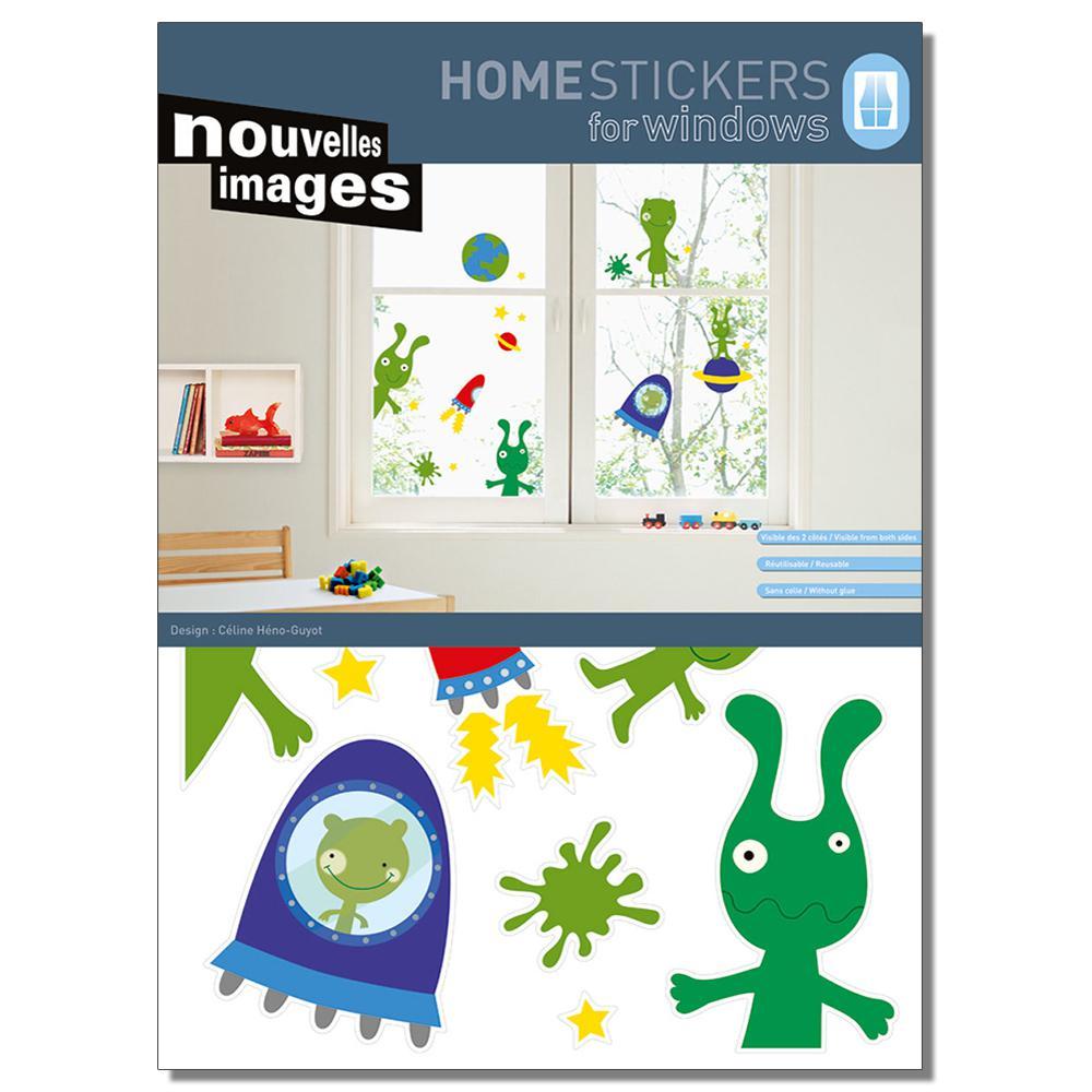 Multicolor XL-The Martians Home Sticker