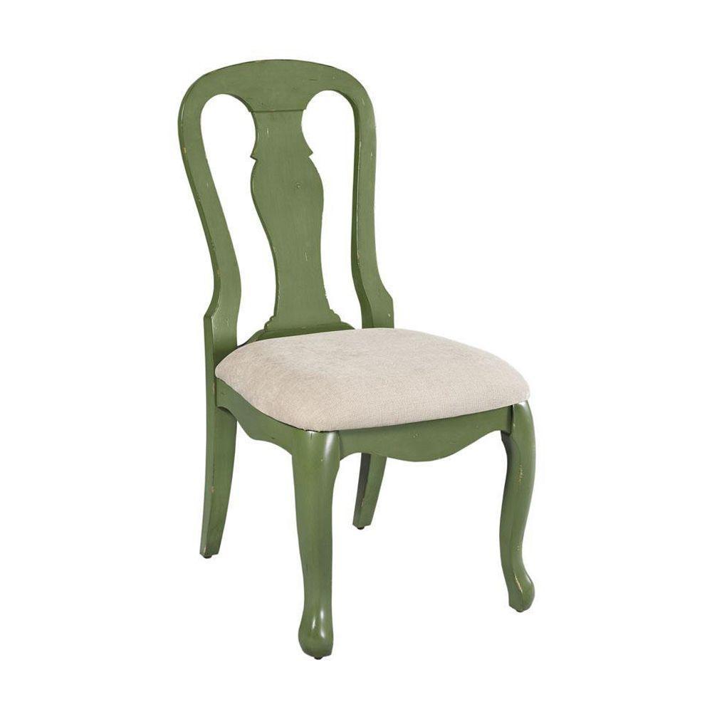 Home Decorators Collection Sheffield Antique Sage Side Chair