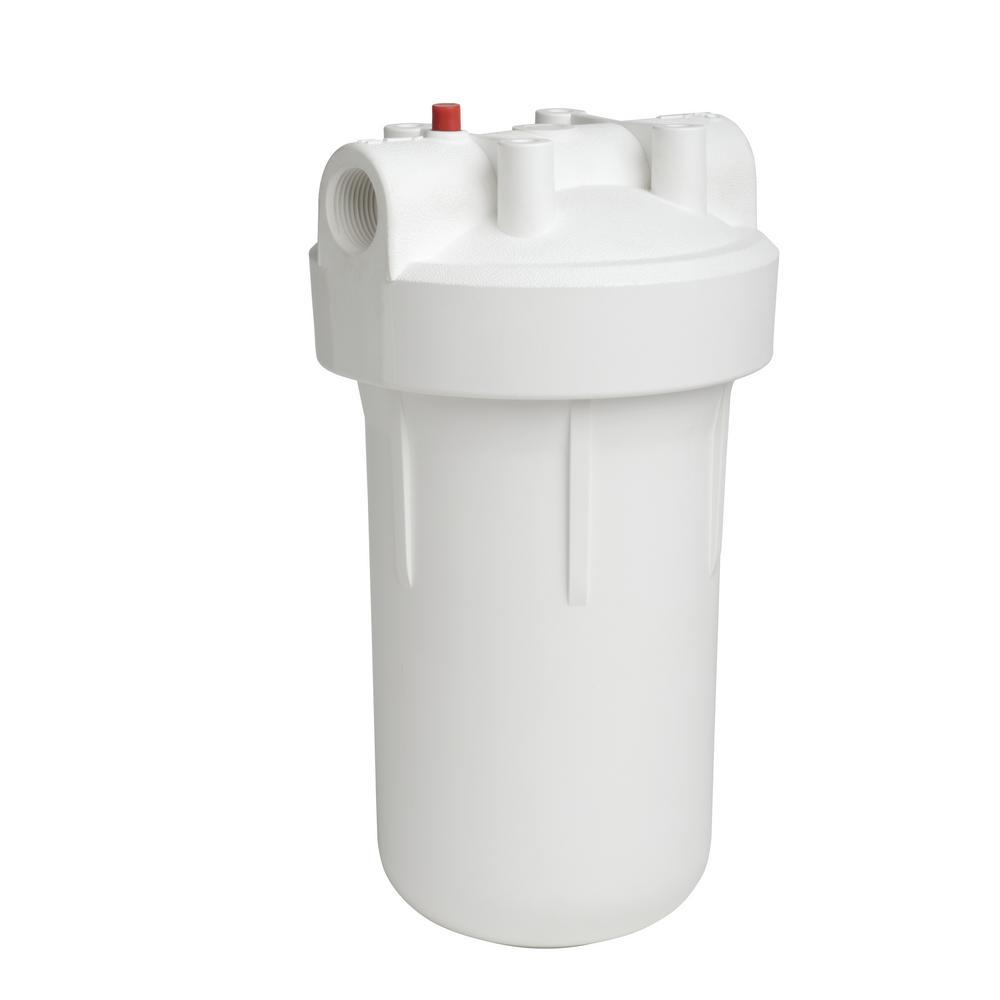 High-Flow Whole Home Water Filter System with Pressure Release Button