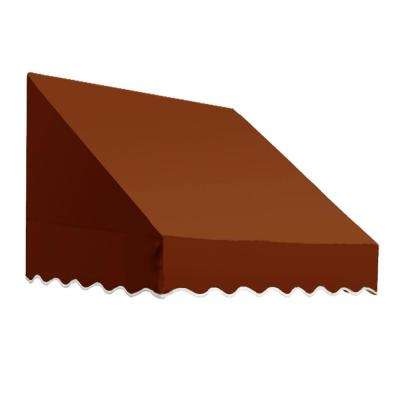 4.38 ft. Wide San Francisco Window/Entry Awning (31 in. H x 24 in. D) Terra Cotta