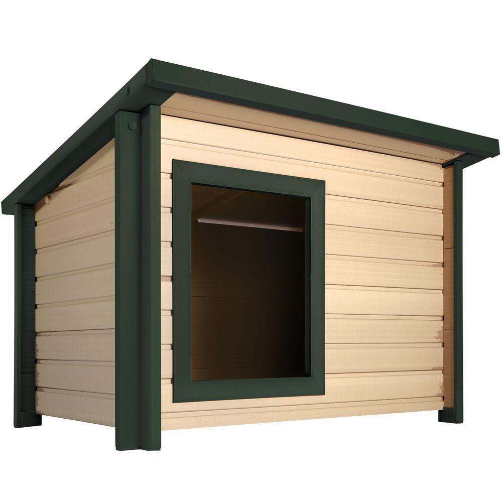 EcoFLEX Jumbo size Rustic Lodge Dog House