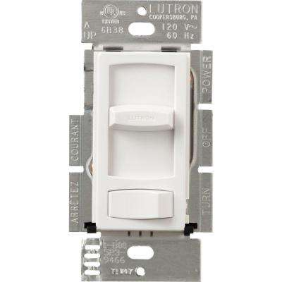 Skylark Contour 600-Watt Single-Pole Preset Dimmer - White