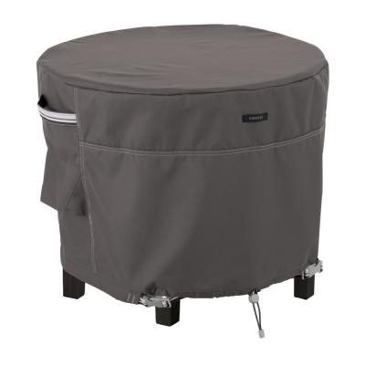 Ravenna 36 in. Dia x 25 in. H Round Patio Ottoman/Table Cover