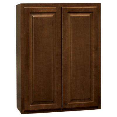 Hampton Wall Kitchen Cabinets in Cognac - Kitchen - The ...