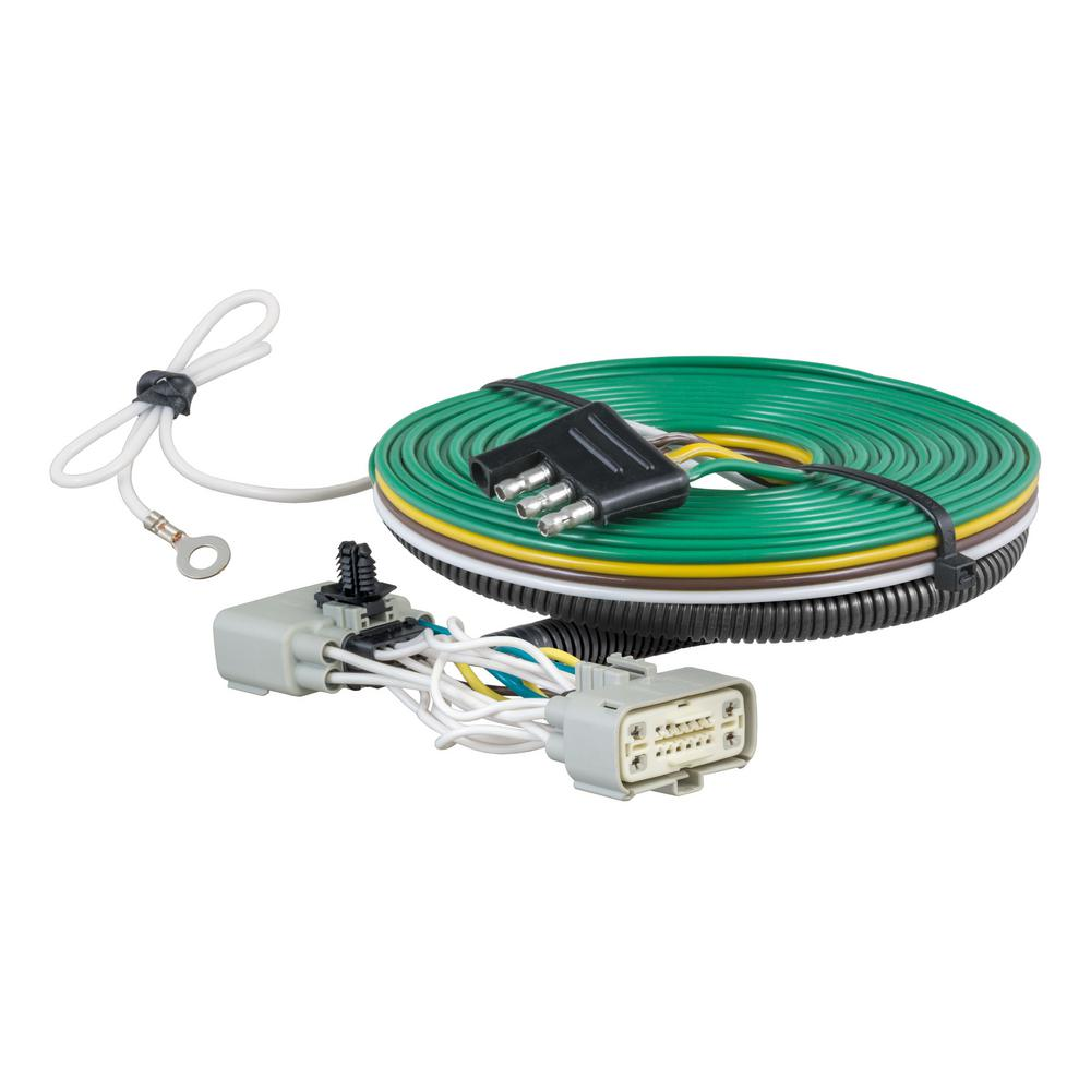 CURT Custom Towed-Vehicle RV Wiring Harness, Select Ford F-150-58970 - The  Home Depot