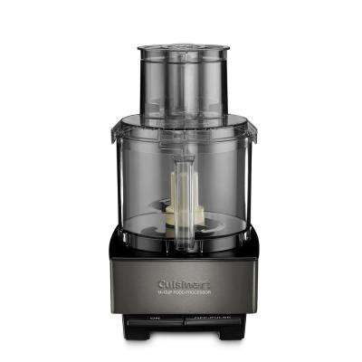 Black Stainless 14-Cup Food Processor